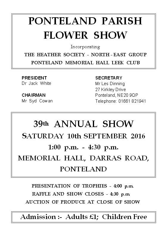 Flower Show front cover for website